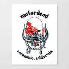 Motordead Canvas Print