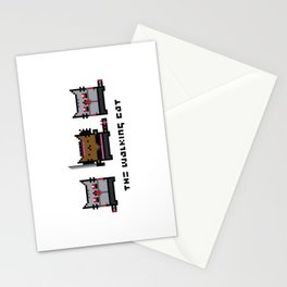 The Walking Cat - Meowchonne Stationery Cards
