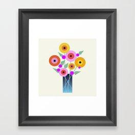 Floral Potpourri Framed Art Print