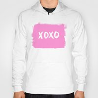 xoxo Hoodies featuring xoxo by Social Proper