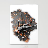 shameless Stationery Cards featuring Ian gallagher,Shameless by Teya Ross