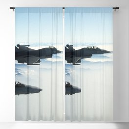 Air Force Fighter Jets Blackout Curtain