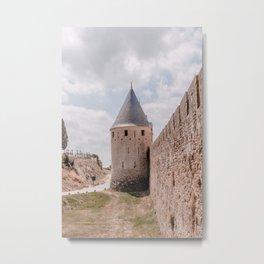 Castle in France Metal Print