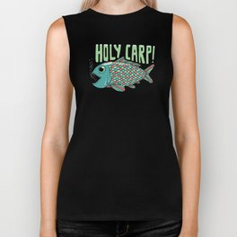Holy Carp! Biker Tank