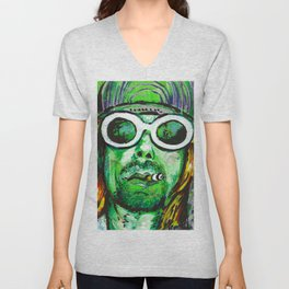 Cobain Unisex V-Neck