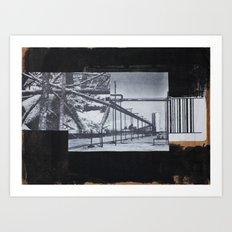 Barcoding Art Print