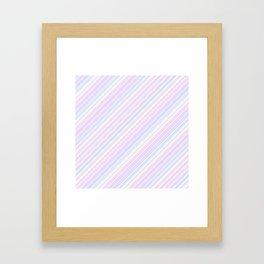 Just Stripes 6 Framed Art Print