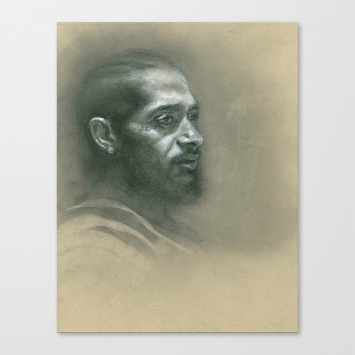 Victory Lap Canvas Print