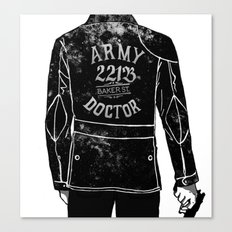 The Army Doctor Canvas Print
