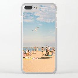 beachscape Clear iPhone Case