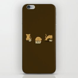 Eat Sleep Prey (Cats) iPhone Skin