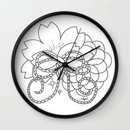 Spring Sakura #1 2018 Wall Clock