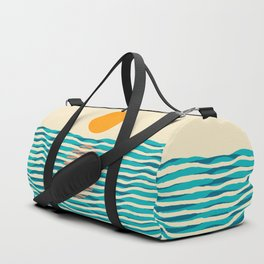 Ocean current Duffle Bag