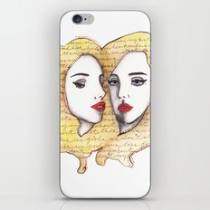 We are there for each other.  iPhone & iPod Skin