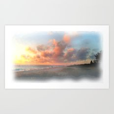 Vero Beach Sunrise Art Print