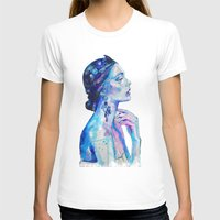 queen T-shirts featuring Queen by Andreea Maria Has