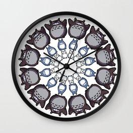 Anime Mandala Wall Clock