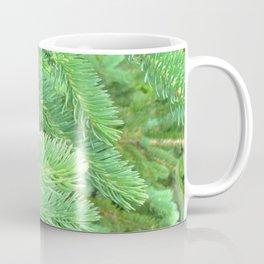 Watercolor Tree Spruce 01, Verdant Green, Nova Scotia, Canada Coffee Mug