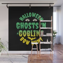 "Halloween ""Ghosts 'N Goblins Bow Hunt Wall Mural"