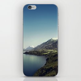 On my way to Glenorchy (Things happened to me) iPhone Skin