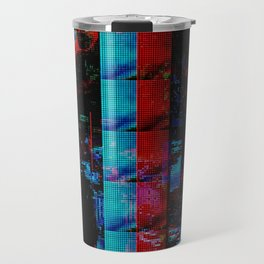 Face of a thousand Voices Travel Mug