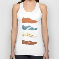 shoes Tank Tops featuring Shoes by Things and Other Things