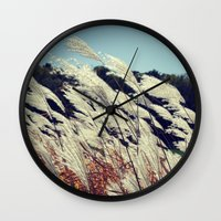transparent Wall Clocks featuring Transparent by KunstFabrik_StaticMovement Manu Jobst