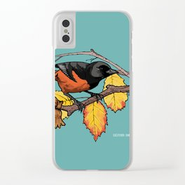 Oriole Clear iPhone Case