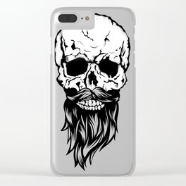 Shave anything but Beard Clear iPhone Case