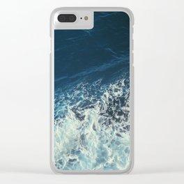 w a t e r is thicker than b l o o d Clear iPhone Case