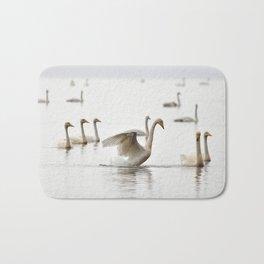 Swans. Bath Mat