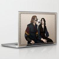 aragorn Laptop & iPad Skins featuring Gondor Humour by wolfanita