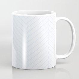 Herringbone White Decor Accent Coffee Mug