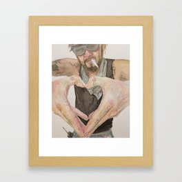 Bastard Love Framed Art Print