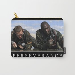 Perseverance: Inspirational Quote and Motivational Poster Carry-All Pouch
