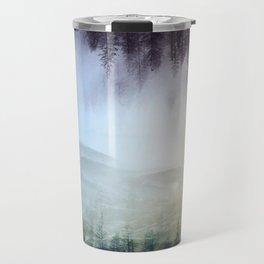 flipped forest Travel Mug
