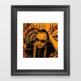 Black Francis, where is my mind? Framed Art Print