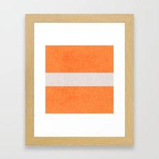 orange classic Framed Art Print