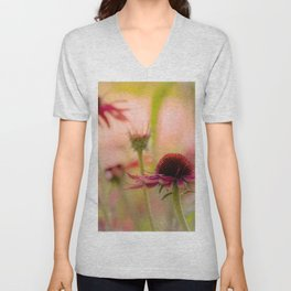 #Nature #series #image #4 #flower in the #autumn #cottage #garden Unisex V-Neck