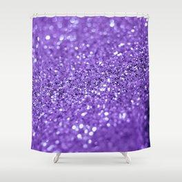 Purple sparkles Shower Curtain