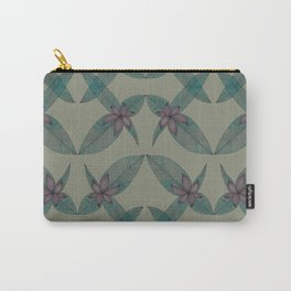 LINED FLORAL Carry-All Pouch