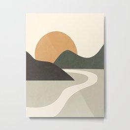 ABSTRACT ART 9A Metal Print