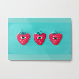 Cry Berry Metal Print