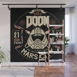 Doom - Fight Hell Wall Mural