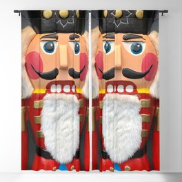 Nutcracker Christmas Design - Illustration Blackout Curtain