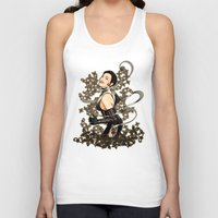 gothic Tank Tops featuring Gothic by Benimarudo