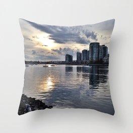 Vancouver, Canada Throw Pillow