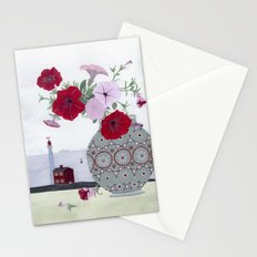 Petunias and Seascape Stationery Cards