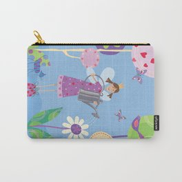 Fairy in the Garden Carry-All Pouch