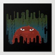 Cave Grump Canvas Print